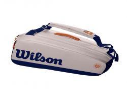 Túi Tennis Wilson ROLAND GARROS PREMIUM 9pack (WR8012601001)