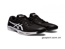 Giày Tennis Asics Solution Speed FF 2.0 (1041A182-001)-Black/ White