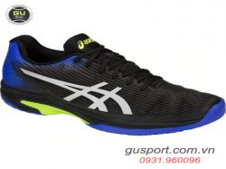 Giày tennis Asics Solution Speed FF Blk/Bl/Ye -1041A003-011