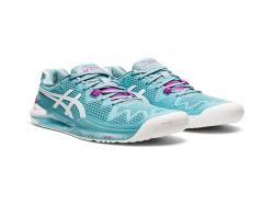 Giày tennis Asics Gel Resolution 8 Womens (1042A072-403) Smoke Blue/White