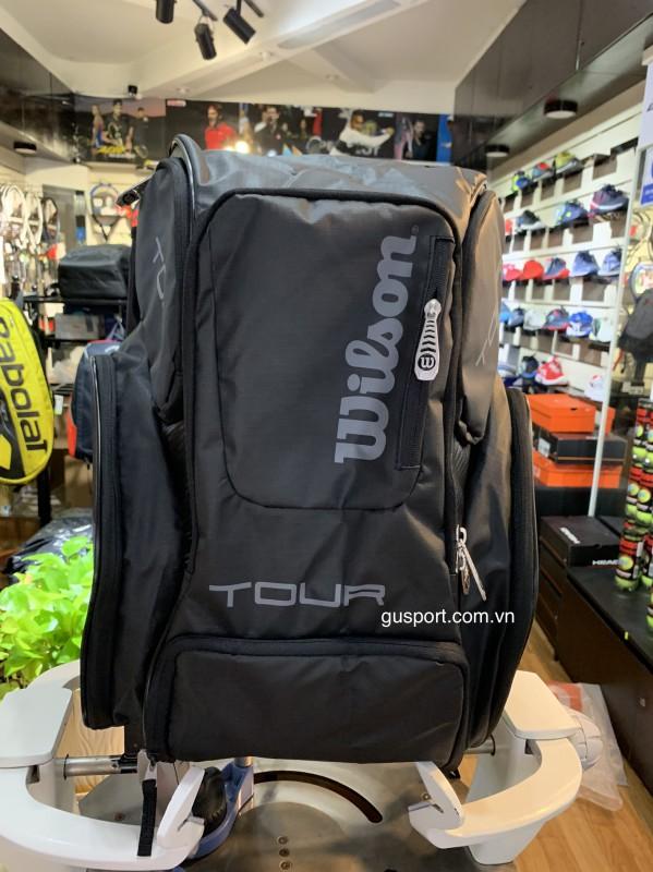 Balo Tennis Wilson Tour V Large Black -WRZ845696 _A