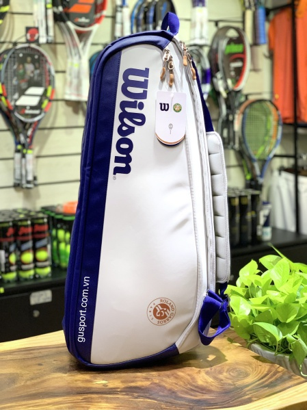 Túi Tennis Wilson ROLAND GARROS PREMIUM 9pack (WR8012601001)_D