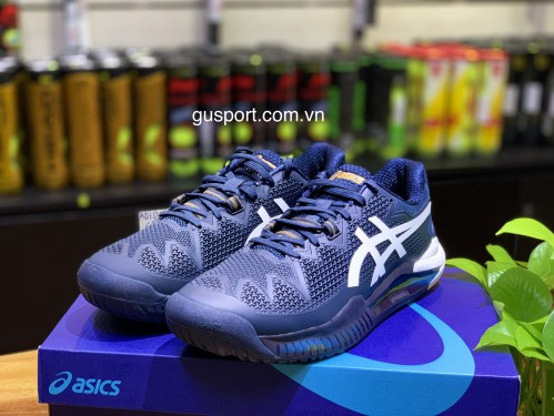 Giày tennis Asics Gel Resolution 8 French Blue _ White (1041A079-403)